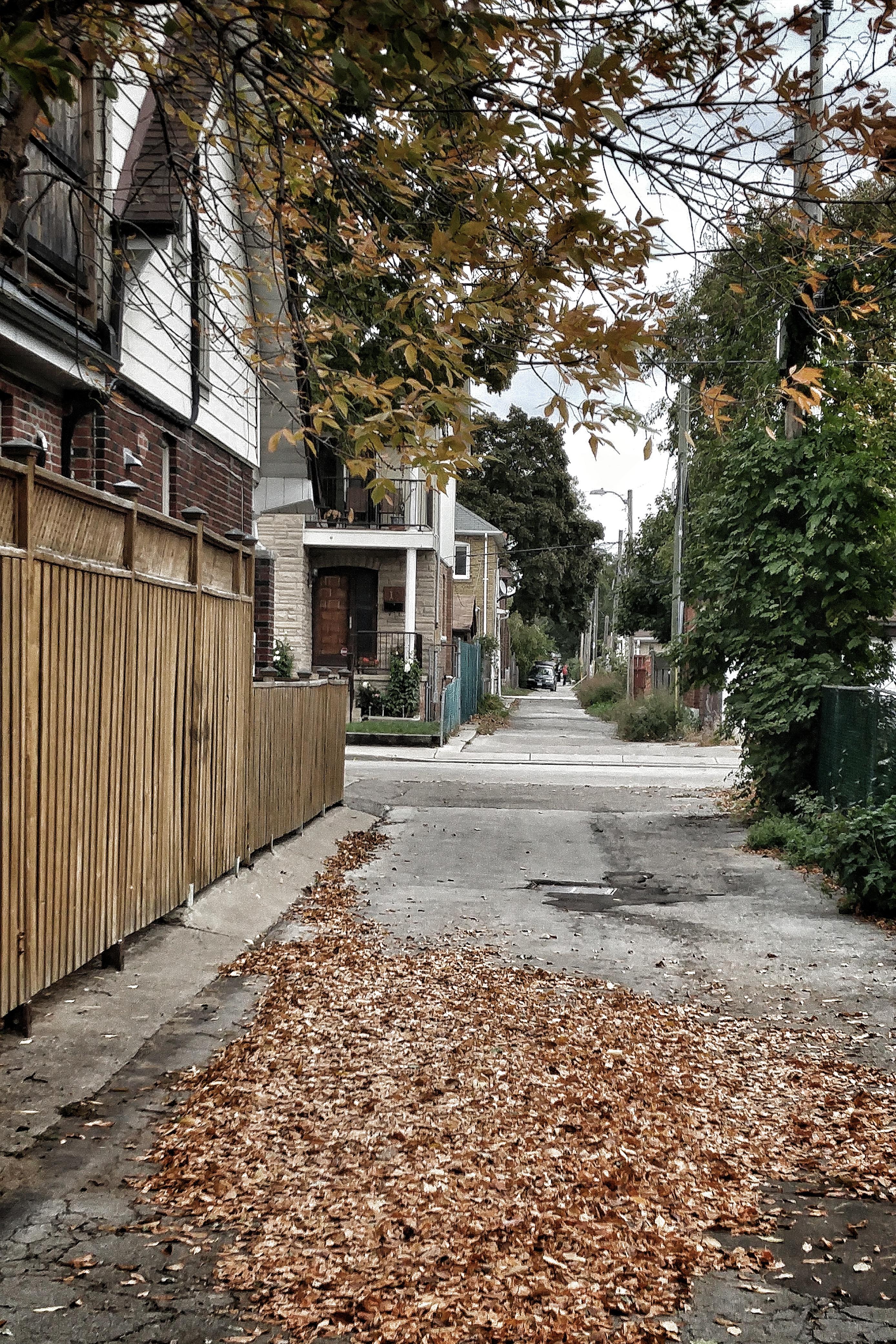 Fall in the backstreet